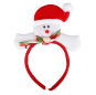 Snowman Christmas Headband Santa Claus Hat Christmas Party Supplies Adult Children Headdress Wedding Decoration