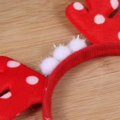 Cute Elk Headband For Christmas Party Headdress Beautiful Party Supplies Christmas Hair Hoop For Children Kids Xmas
