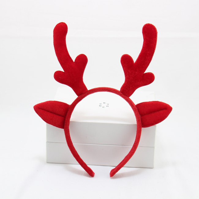 Cute Reindeer Headband Children Girls Halloween Hair Band Headband Deer Antlers Christmas Party Headband Costume Headdress