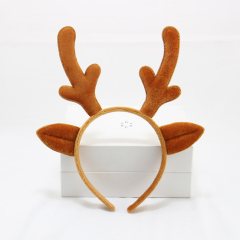 Cute Reindeer Headband Children Girls Halloween Hair Band Headband Deer Antlers Christmas Party Headband Costume Headdress