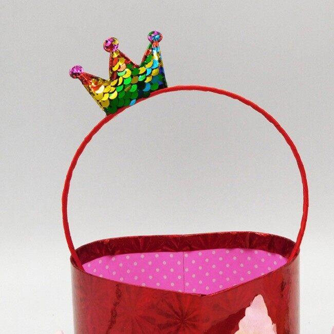 Creative Sequins Headdress Hair Accessories Crown Children's day Headband Christmas Birthday Party Supply