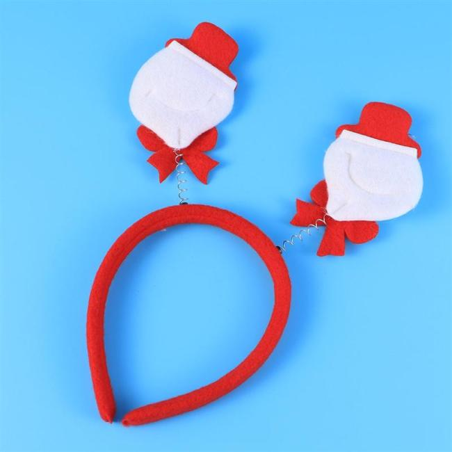 Christmas Hair Hoop Decorative Headband Santa Hat Bell Exquisite Headband Hair Accessory Hair Hoop Headdress For Kids Adults