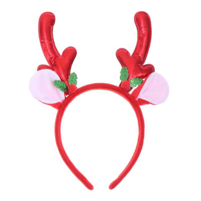 Christmas Hairband Creative Elk Antlers Hair Hoops Hair Bands Hair Accessory Headdress for Cosplay Decorations