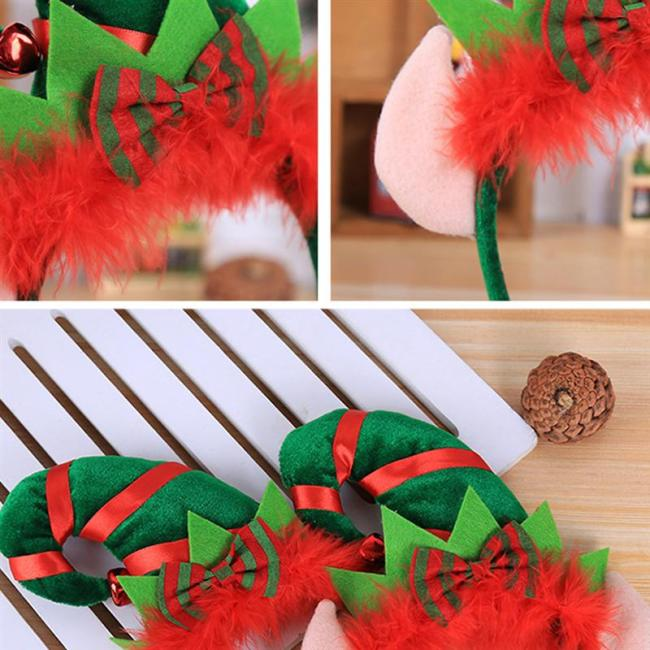 Christmas Headband Headdress Hairband Hair Hoop Christmas Masquerade Party Accessories