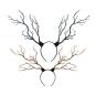 Deer Horn Headdress Antlers Fantasy Costume Fairy Fascinator Headpiece Festival