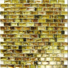 Hand painting glass tile, bathroom wall sticker,painted brick mosaic tile(KY-ZR2013415)