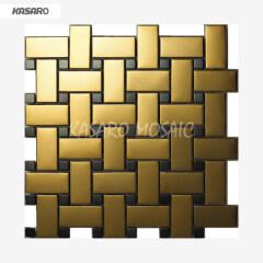 Wall Decor Metal Art Home Stainless Steel Mosaic Tile Metal Home Decor