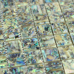 Wholesale Wall Decoration Green Mother Of Pearl Mosaic Tiles For Interior Decoration
