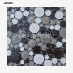Round Mosaic Tiles For Crafts KN-12122432B