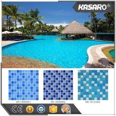 Blue Mosaic Swimming Pool Tile