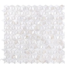 Wholesale Seamless Mother Of Pearl Shell Peel Stick Self-adhesive Mosaic Shell Tiles