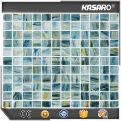 Swimming pool glass mosaic, Crystal glass mosaic tile, Mosaic glass KSL-DP1223