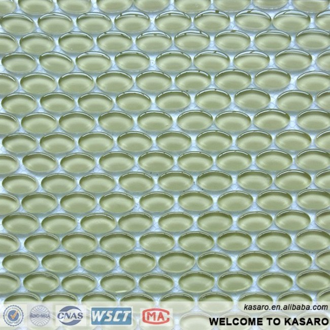 Bathroom Tile Bubble Glass Tile(KESR15077)