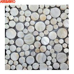 Round Mosaic Patterns, Round Shell Mosaic (KMOP20120004)