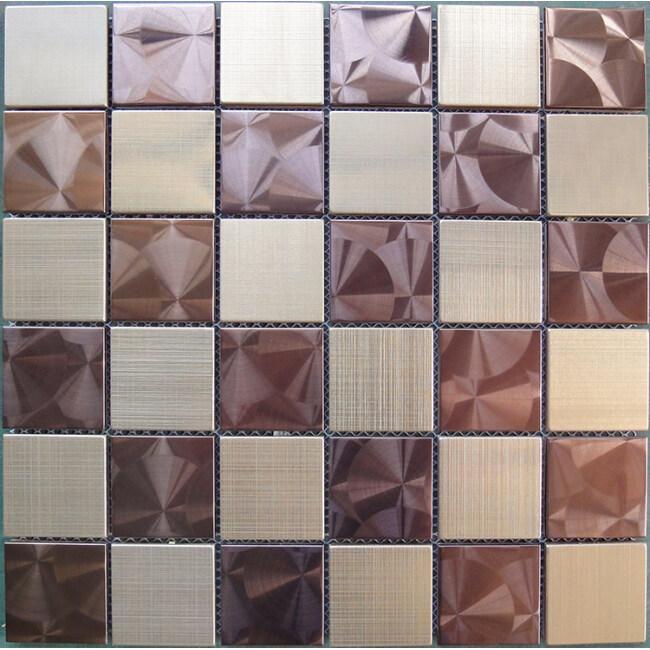 China Supplie Aluminium Composite Metal Mosaic Tile