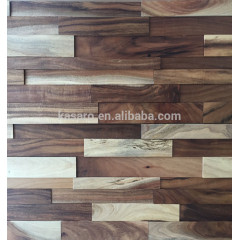 Wooden Mosaic, Solid wood wall cladding