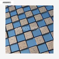 13 Faces Diamond shinning Mosaic Mirror Glass Mosaic Mirror,Beveled Glass Mirror Mosaic Tile