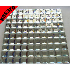 Sliver mirror mosaic tile, mosaic mirror, beveled glass mirror mosaic tile