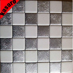 Leather wall Tiles,leather mosaic tile,soft home wall decoration