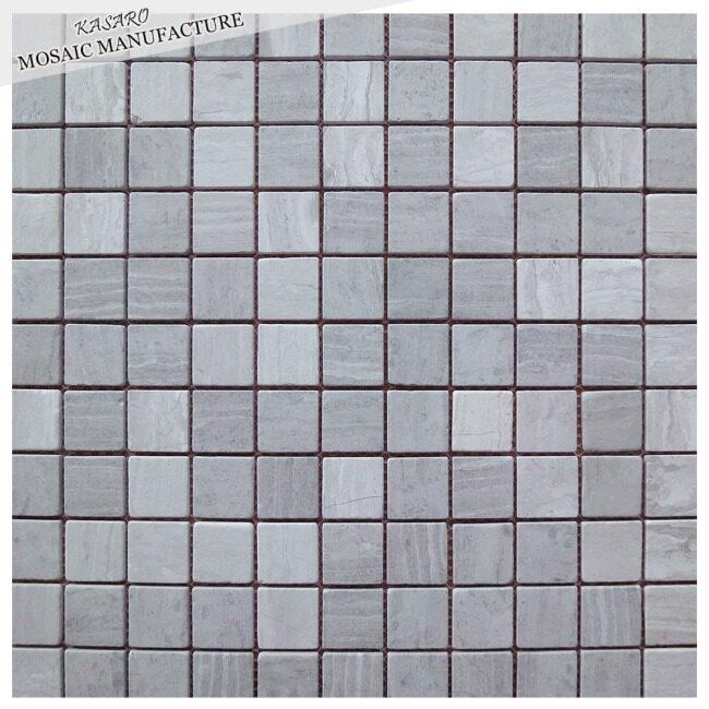 Bathroom accessories square gray stone tiles flooring