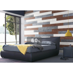 Natural material high quality wooden interior wood 3d wall panels