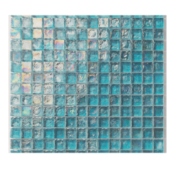 Turquoise Glass Mosaic Tile For Swimming pool