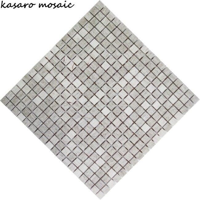 15x15 mm travertine mosaic, split face travertine mosaic, travertine mosaic tile borders