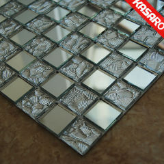 Mosaic Mirror,Mirrored Mosaic Vase,Mosaic Mirror Tile