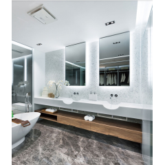 China Wooden White marble lantern mosaic tile backsplash