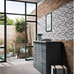 Self-Adhesive Wall Tile with Mosaic Effect for Kitcheh Bathroom Backsplash Mosaic