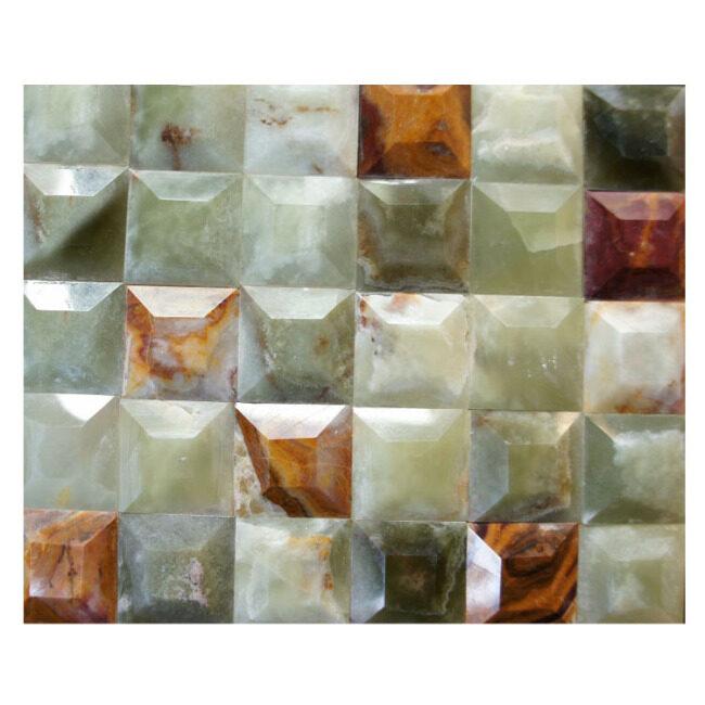 Jade Mosaic Tile,natural stone mosaic tile,decorative indoor stone wall tiles