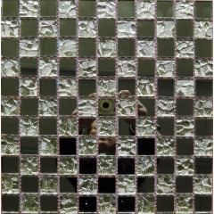 Mosaic Mirror Sheet, Mosaic Mirror Tiles, Mosaic Mirrors for Sale (KMO20130007)