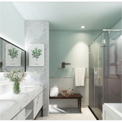 Fashion design 3d marble mosaic tiles
