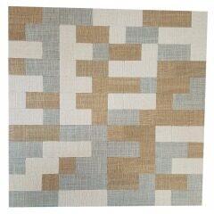 Table Cloth Effect Mosaic Tile Aluminum Mosaic Tiles Peel And Stick Wall Tile Aluminum Mosaic