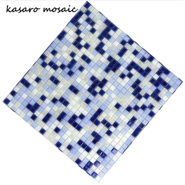 Design House Square Shape Glass Mosaic Wall and Floor Tile