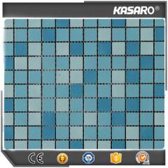 Swimming Pool Ceramic Tiles Crackle Ceramic Mosaic Wholesale Mosaic Tiles (KSL14038)