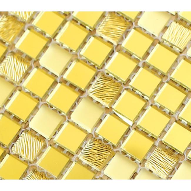 Mirror Mosaic colored hexagon swimming pool Mosaic Tiles