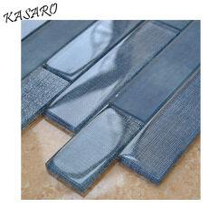 Brick Glass Mosaic China Tiles Interior Decorating Items