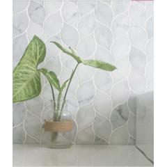 Wall decorative 300x300mm marble mosaic tile for kitchen backsplash