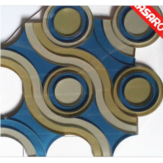 Newly Decorative Water Jet Mosaic Tile