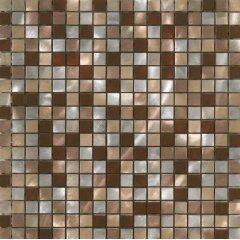 Metal stainless steel mosaic tile (ALUBRUSH-1,5 CM-30 PAINTED)