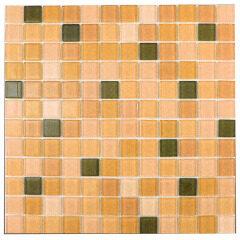 China Manufacturer Colorful Glass Mosaic Tile for Bathroom Design