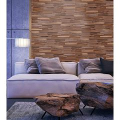 Waterproof wall paper 3d home decoration 3d wood wall panel
