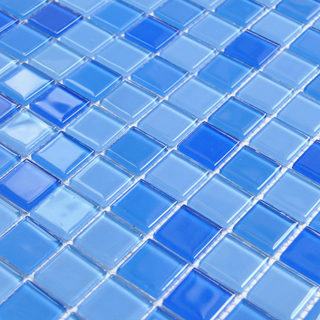Kitchen wall tile Mosaic bathroom floor tile Glass mosaic for swimming pool tile