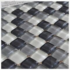 Water drop antique glass mosaic bathroom tile
