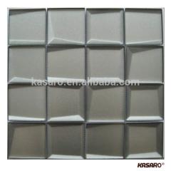 New Design Beveled Glass Mosaic Tiles For Luxury Decor