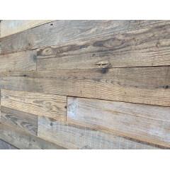 Self Stick Reclaim Wood Wall Cladding Peel and Stick Wood Wall Panel