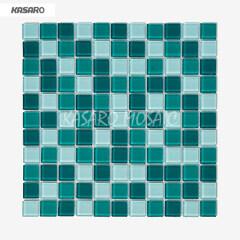 2013 Olive Green Mosaic Tile Wedding Stage Decoration