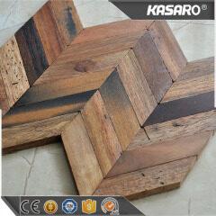 Wooden Wall Cladding Arrow Solid Wood Mosaic