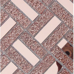 Mirror Mosaic Decorative Wall Mirror Glass Tile 12x12, (KSL8833)
